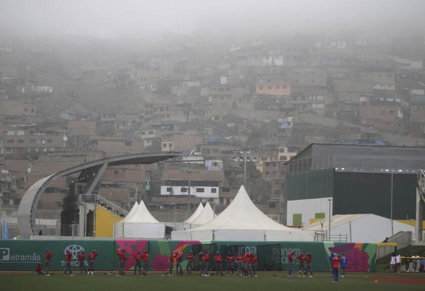 APphoto_Peru Pan American Games