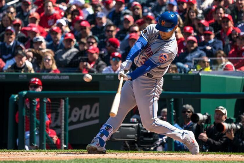 En la imagen, el jugador de los Mets de Nueva York Michael Conforto. EFE/Archivo