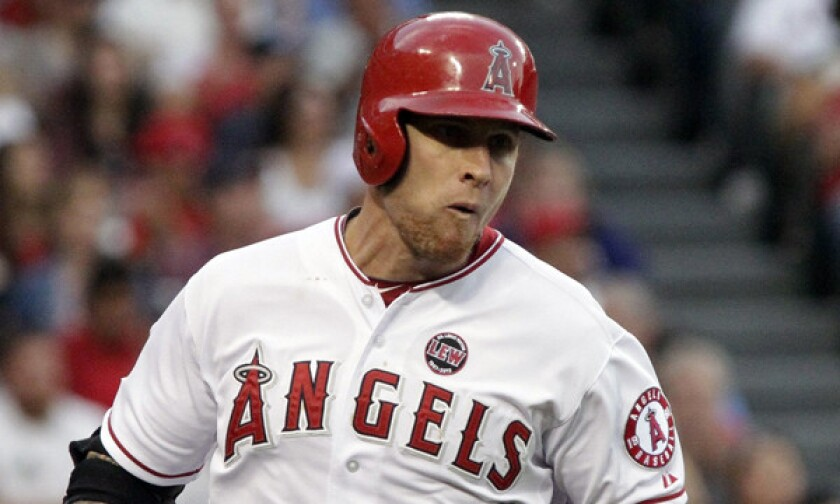 Angels outfielder Josh Hamilton says he isn't worried his calf injury will keep him out of the lineup on opening day.
