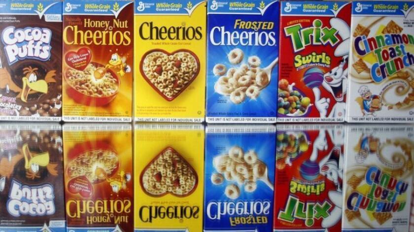 Por qué los estadounidenses comen menos cereal en el desayuno