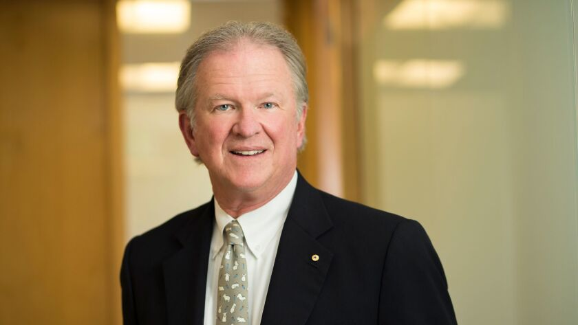John D. Diekman, the newly named chairman of The Scripps Research Institute.