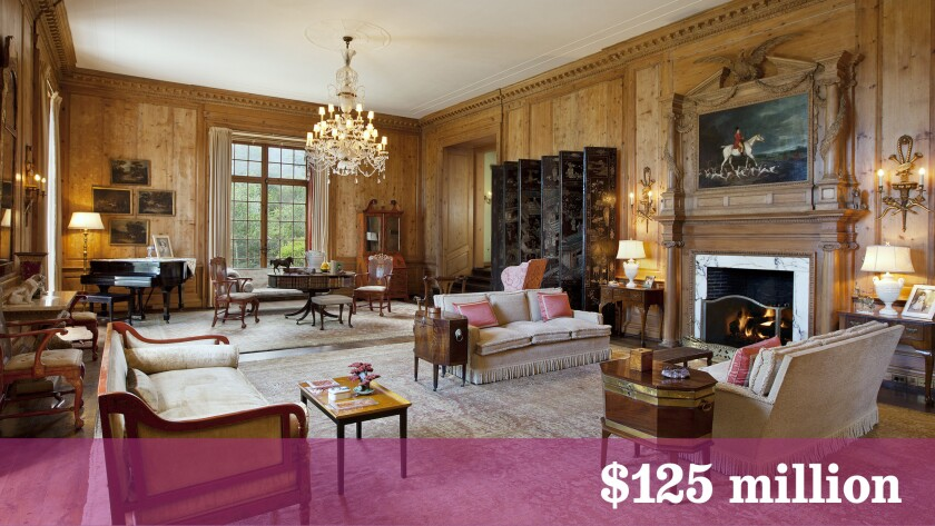 The 237-acre estate for sale in Montecito is known as Rancho San Carlos.