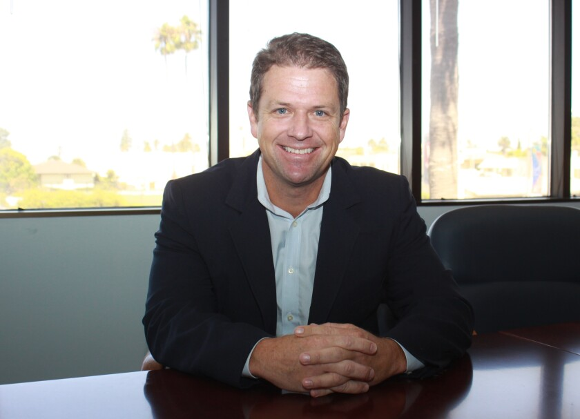 City Council District 1 candidate James Rudolph is a La Jolla resident and a Democrat.