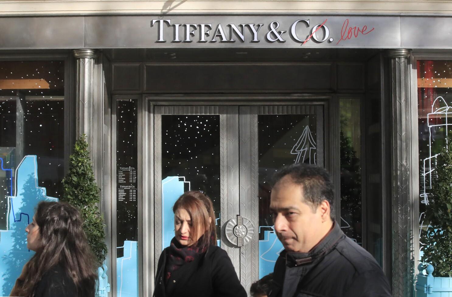 LVMH cancela compra de Tiffany por plan de aranceles de EEUU - San Diego  Union-Tribune en Español