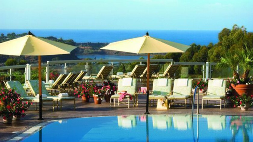 The pool at the Park Hyatt Aviara Resort, Golf Club & Spa