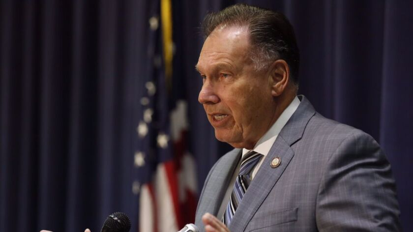 Orange County Dist. Atty. Tony Rackauckas is expected to be challenged in a 2018 election by county Supervisor Todd Spitzer, a longtime political rival.