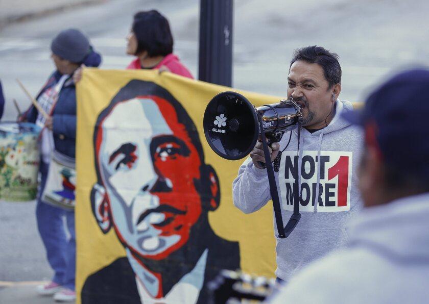 Immigration protest in Atlanta