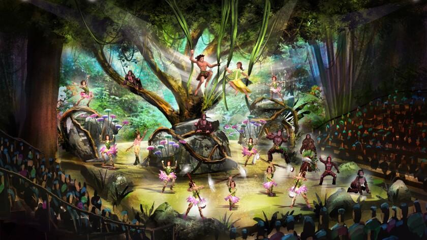 'Tarzan: Call of the Jungle' show