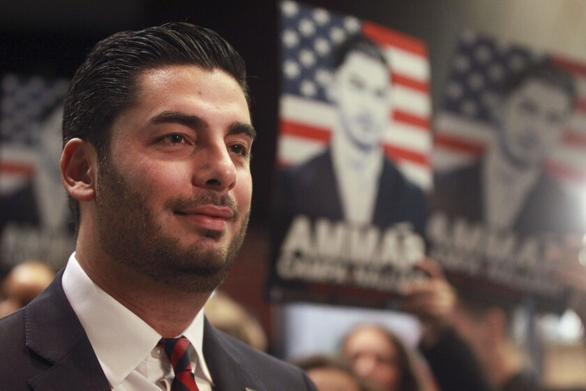 Democratic candidate for the 50th Congressional District Ammar Campa-Najjar