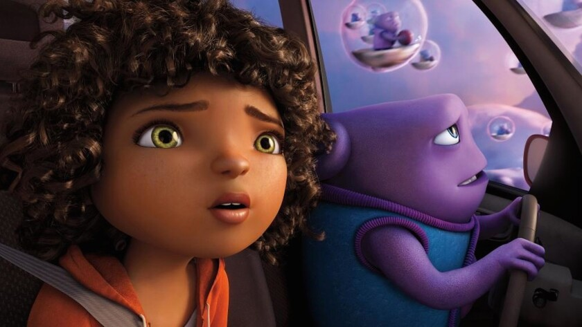 "Released March 27, ""Home"" has done better than many analysts expected domestically, generating $154 million in ticket sales in the U.S. and Canada."