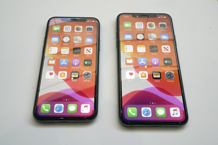 Two iPhones