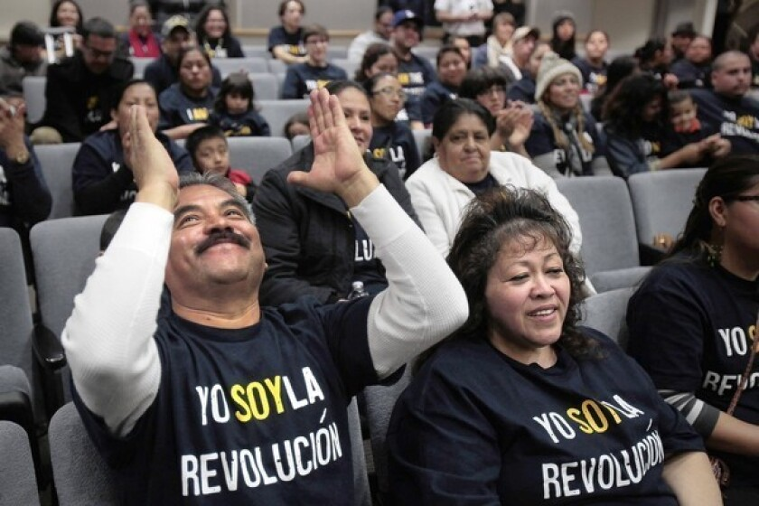 Proposal for parent-trigger overhaul at L.A. school well-received