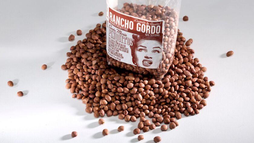 Santa Maria Pinquitos (beans) from Rancho Gordo.