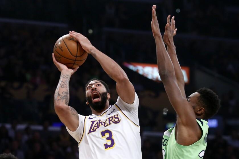 Timberwolves Lakers Basketball
