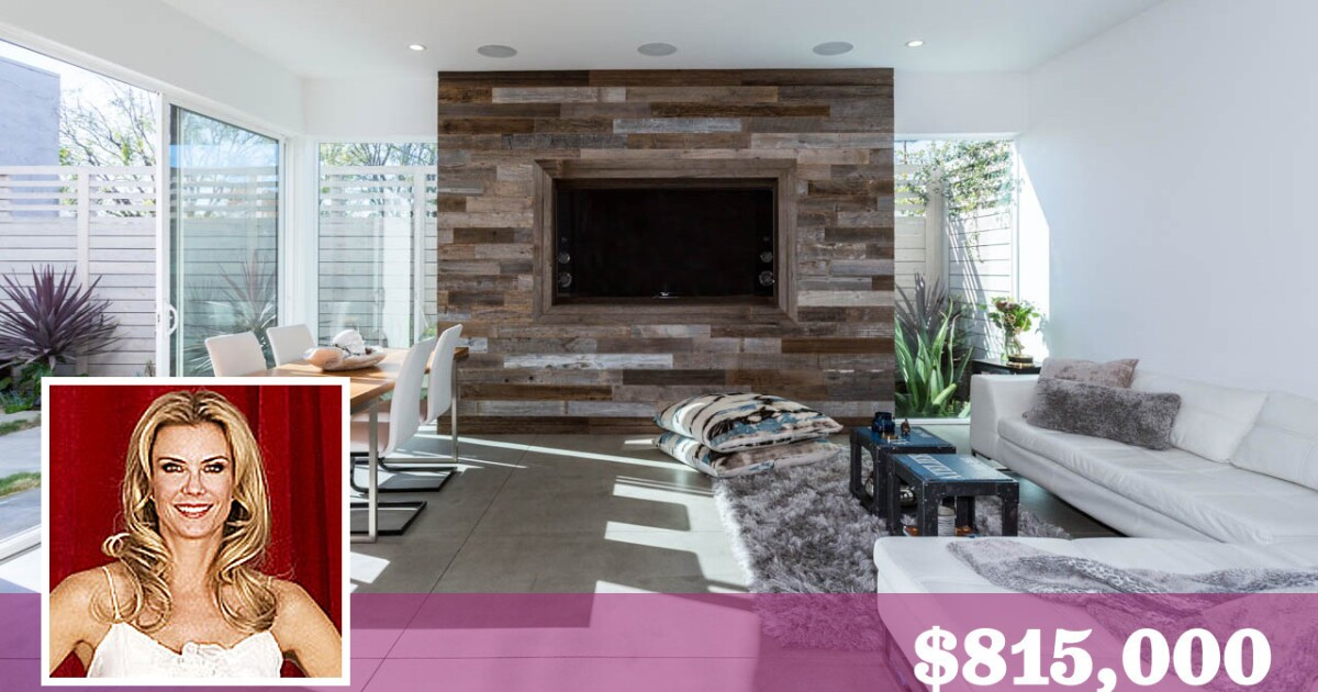 Soap Star Katherine Kelly Lang Puts Hip Glassell Park Home Up For Sale Los Angeles Times