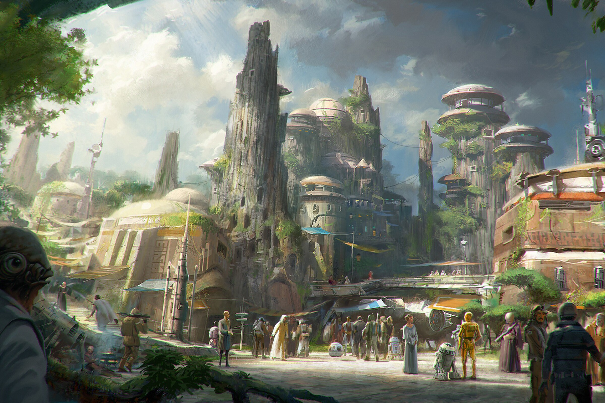 Star Wars: Galaxy's Edge will open May 31 at Disneyland Park in Anaheim. The 14-acre attraction is Disneyland's largest-ever single-themed land expansion.