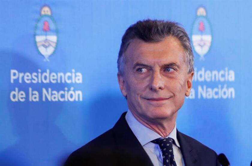 El presidente argentino, Mauricio Macri. EFE/Archivo