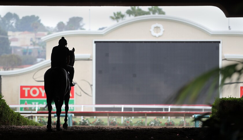 Potential losses will swell into the tens of millions if Del Mar racetrack is not allowed to operate in 2020.