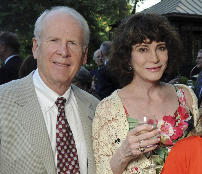 Robert and Dorothy Brockman attend a dinner in Houston in 2011.