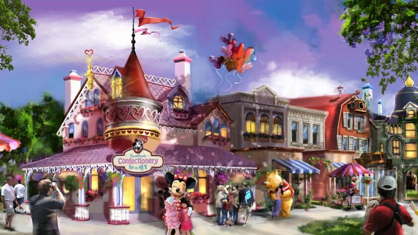 Mickey Avenue shops