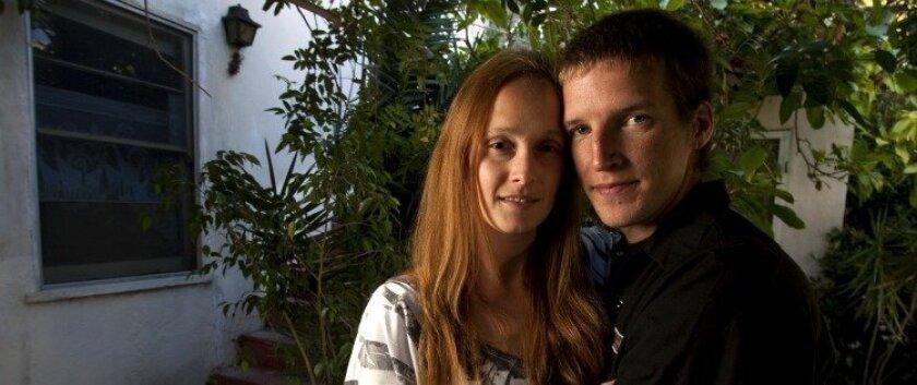 Maggie Miklus and her fiance Nick McNamara.