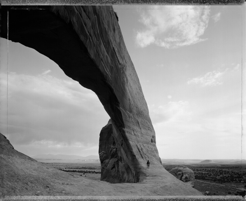 "From p. 254, Great Arch, from Terry Tempest Williams' new book ""The Hour of Land: A Personal Topogra"