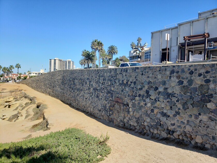 The People's Wall along La Jolla's coastline will be discussed as part of the What's Out There weekend.
