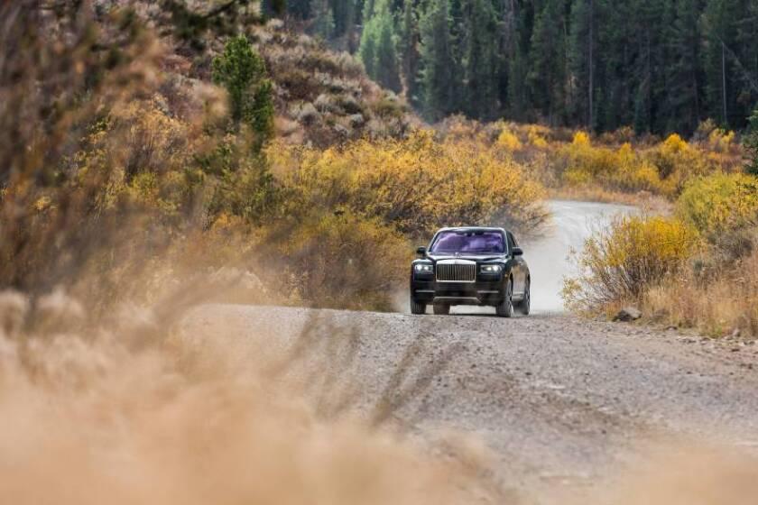 """Con el Rolls Royce Cullinan llega el nuevo """"Sheriff de los SUV's"""","""
