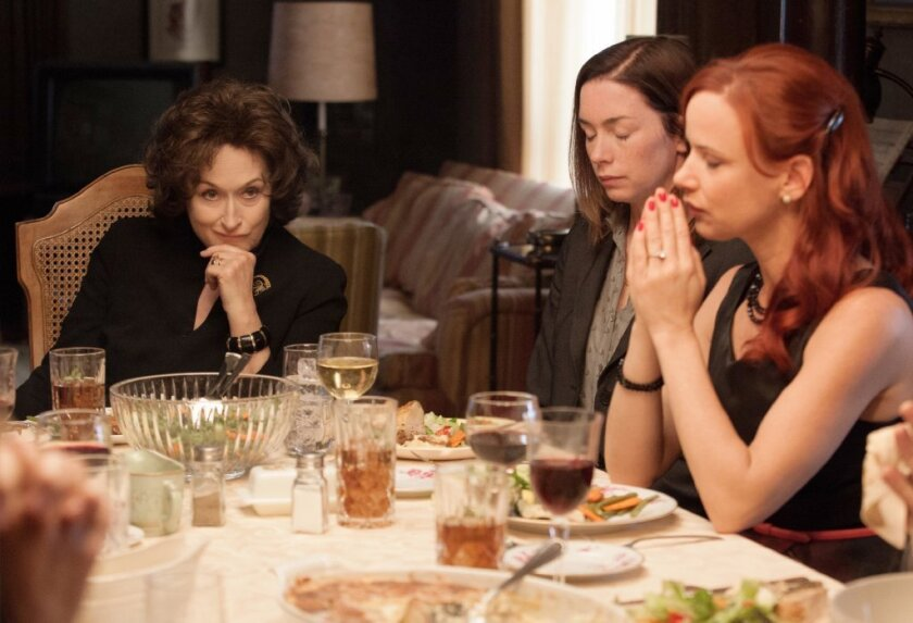 """August: Osage County"": Given the reviews, perhaps Meryl Streep should be praying too."
