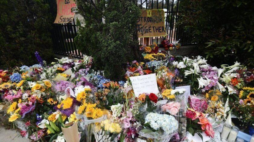 Funeral Service And Vigil Held For Lori Gilbert Kaye, Killed In Shooting At Poway Synagogue