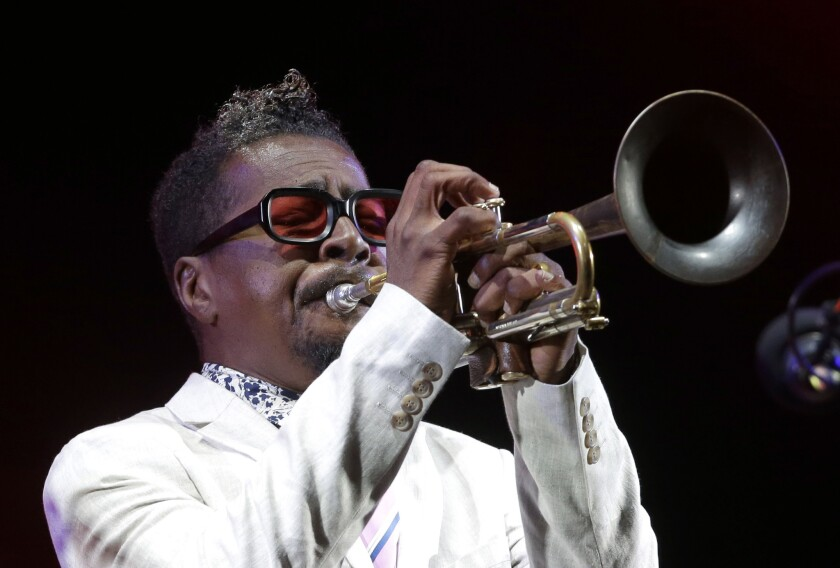 Jazz trumpeter Roy Hargrove died Friday at the age of 49, his manager said in a statement.