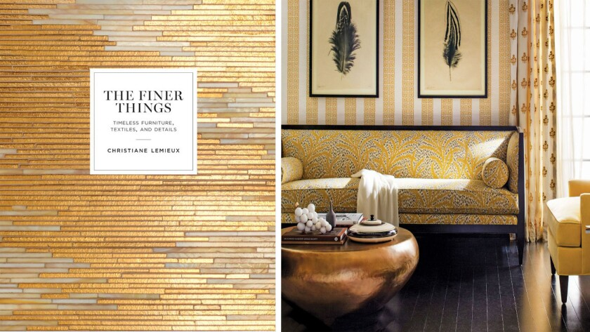 """""""The Finer Things: Timeless Furniture, Textiles, and Details"""""""