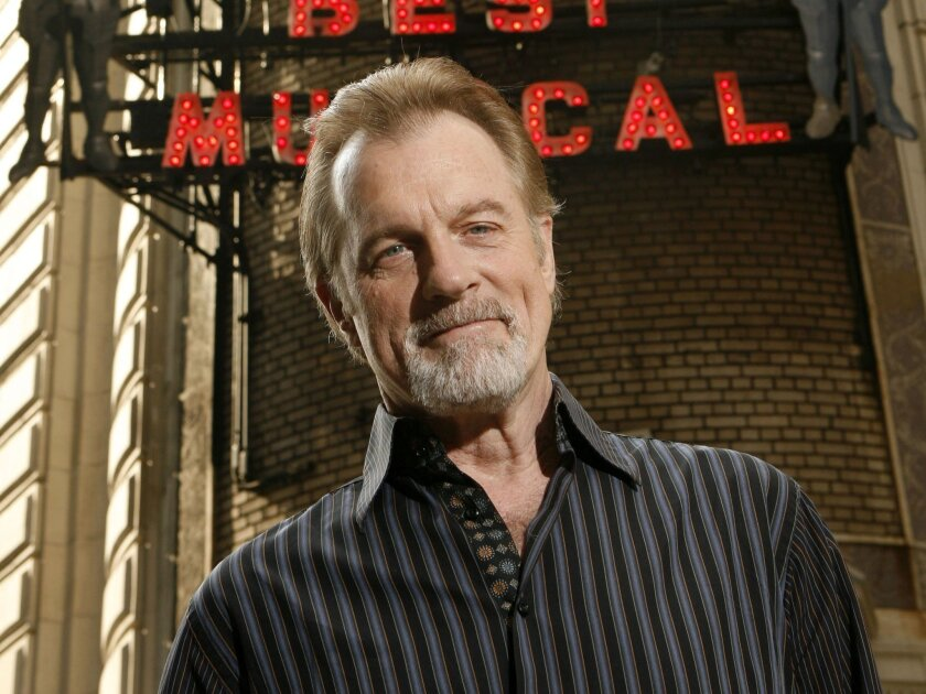 """FILE - This July 1, 2008 file photo shows actor Stephen Collins posing for a picture outside of the Shubert Theatre in New York. An audio recording in which the """"7th Heaven"""" actor Collins purportedly admits he has molested young girls won't be played during his upcoming divorce trial, but it will f"""