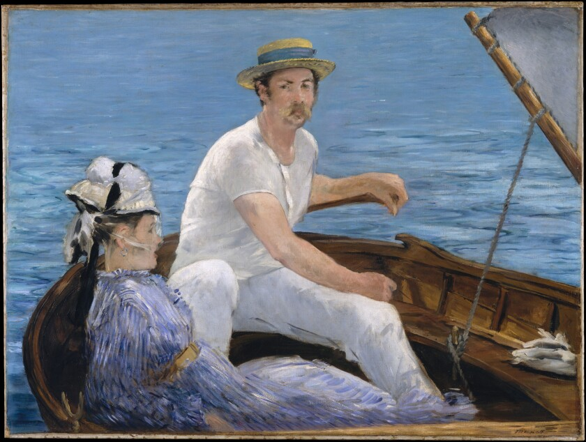 "Édouard Manet's ""Boating"""