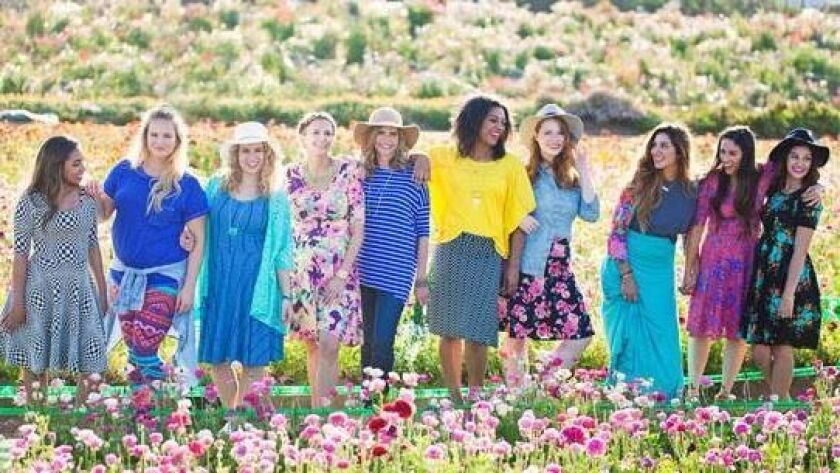 Clothing from LuLaRoe will be for sale at the RSF Garden Club Sept. 25.