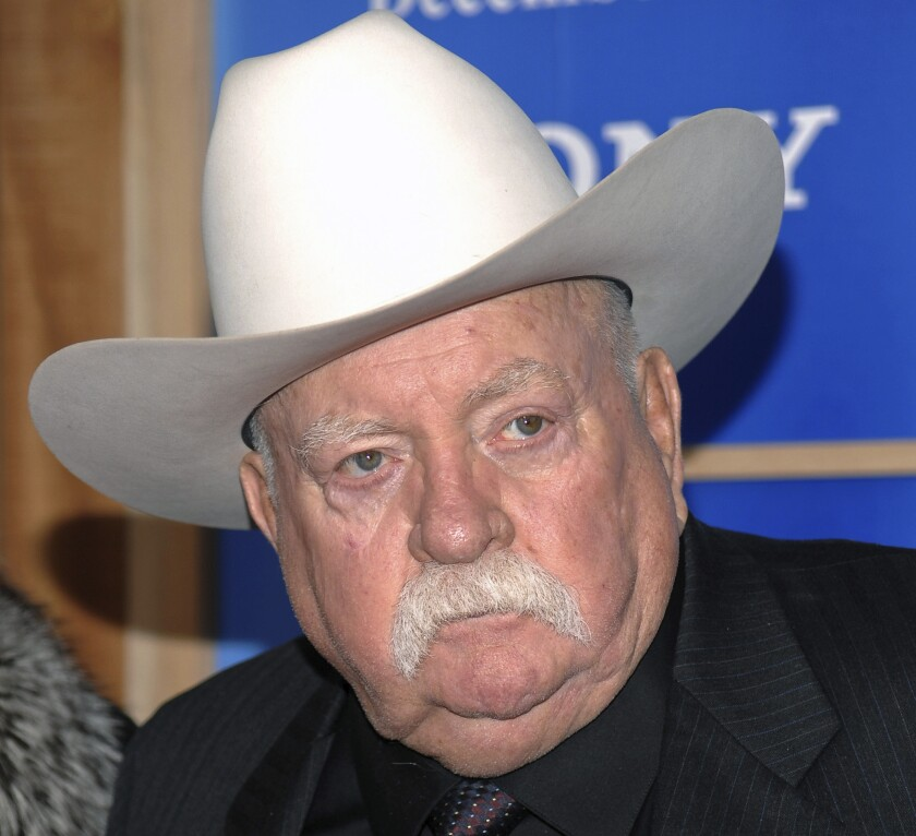 "Wilford Brimley, who worked his way up from stunt performer to star of film such as ""Cocoon"" and ""The Natural,"" has died."
