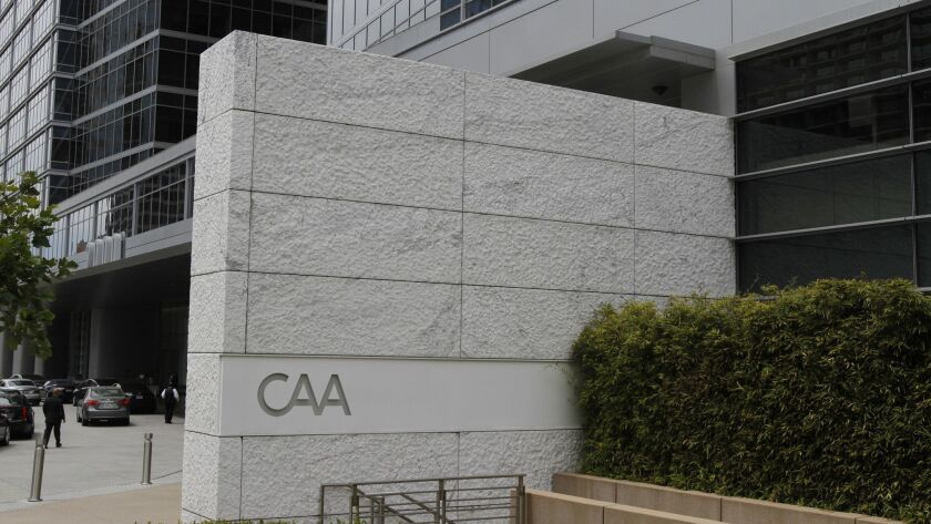 LOS ANGELES CA. JUNE11, 2013: The CAA company is located in this building in Los Angeles. The Westfi