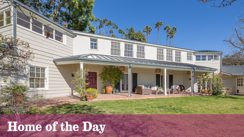 Country-style living in the heart of the Hollywood Hills complete with fruit trees and outdoor living spaces.
