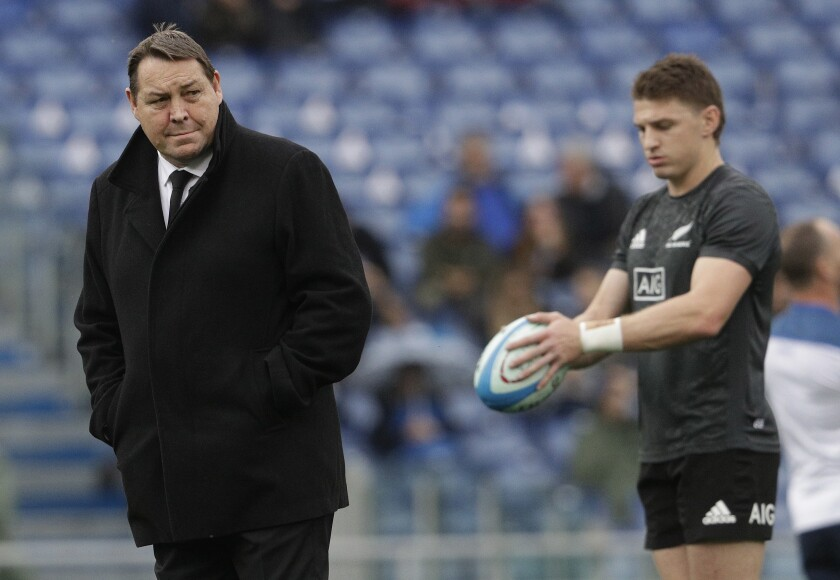 Kiwi Coaches Rugby WCup