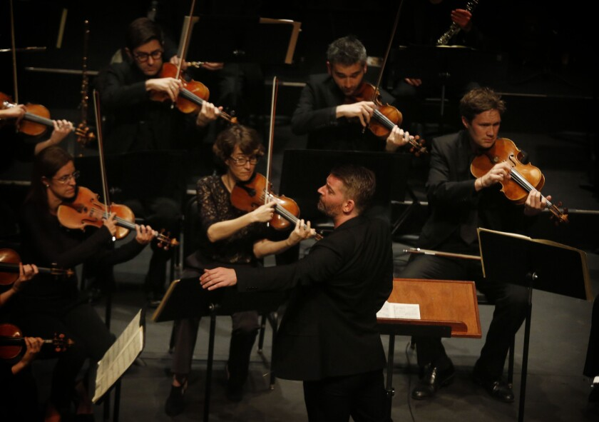 L.A. Chamber Orchestra, seeking a new conductor, and Matthias Pintscher have a great first date