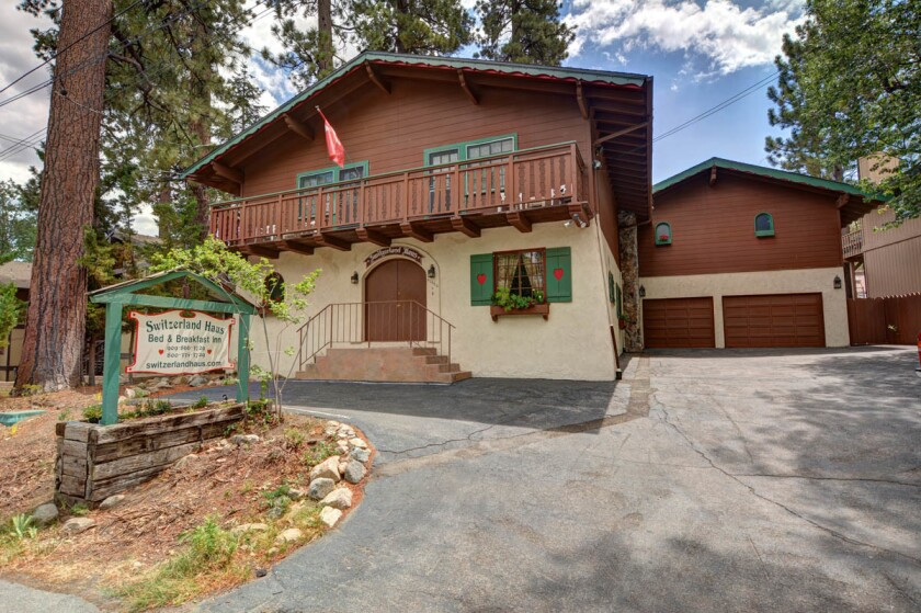 Switzerland Haus Bed & Breakfast near Mountain High and Bear Mountain. (Courtesy photo)