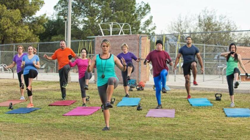 One of the most fun and easy ways to torch calories is with group exercise classes. (Shutterstock)