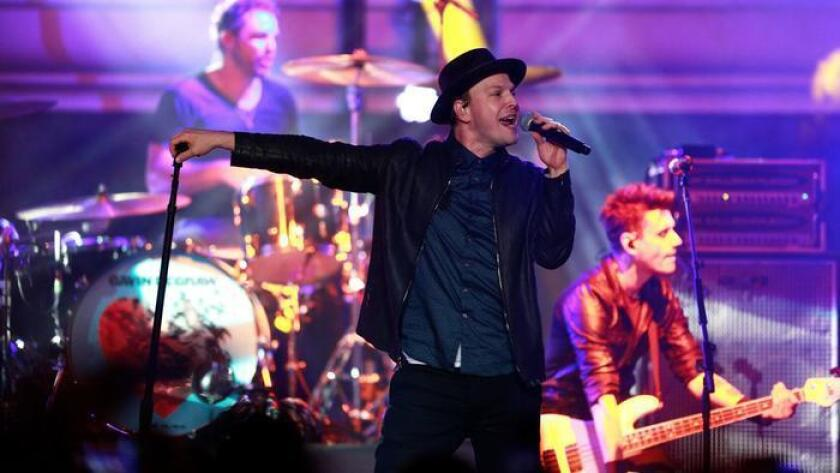 SAN DIEGO, CA-SEPTEMBER 16, 2016: | Gavin DeGraw performs at the Trestles stage during KAABOO Del Mar Friday. (Misael Virgen / San Diego Union-Tribune ** For tronc publications only, no licensing, no sales.**)