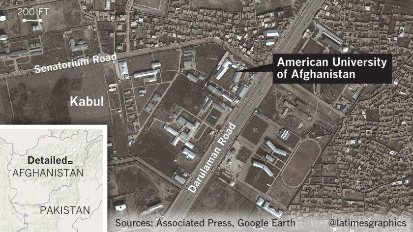 Gunmen storm American University