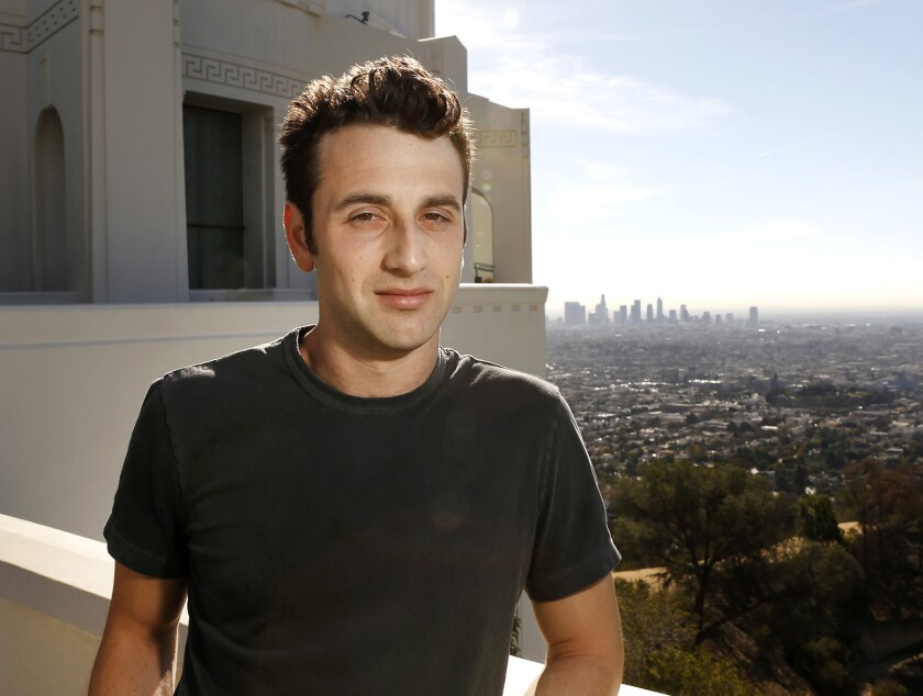 LOS ANGELES, CA - NOVEMBER 09, 2016 - Composer Justin Hurwitz, who wrote the music for the musical f