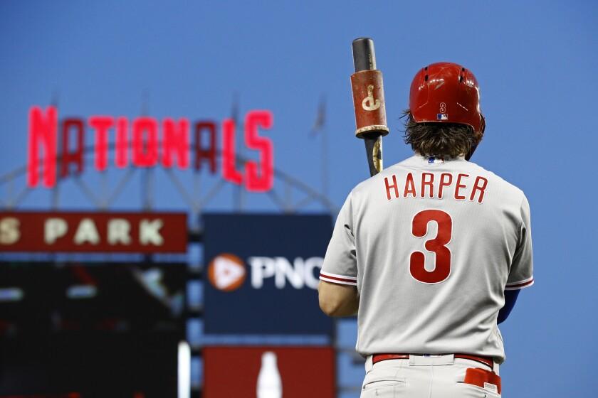 Philadelphia Phillies' Bryce Harper