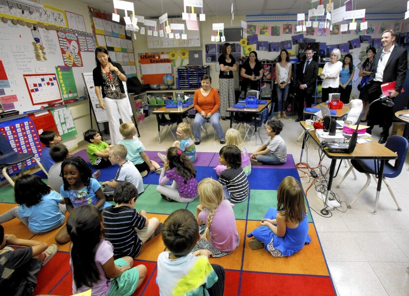 Franklin Magnet School dropped from Title 1 program - Los