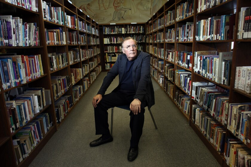 Mega-selling author James Patterson is sharing his writing advice.