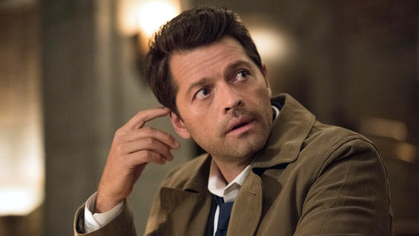 """Misha Collins in """"Supernatural"""" on The CW."""
