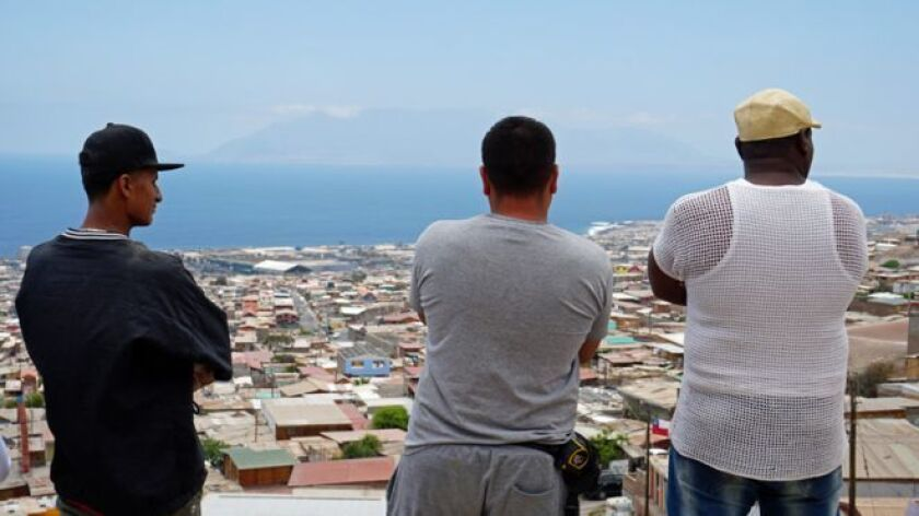 Durante los últimos años, miles de residentes del suroeste de Colombia -en especial de las regiones del Pacífico y del Valle del Cauca, afectadas por el aumento de la siembra de coca- han emigrado a ciudades con gran oferta de trabajo como Antofagasta